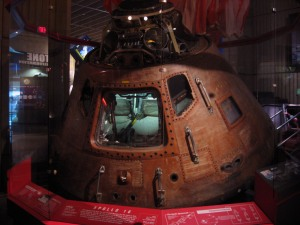 Apollo 16 Command Module. U.S. Space and Rocket Center. Huntsville, Alabama.